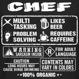 CHEF funny and humor - Men's Premium Long Sleeve T-Shirt