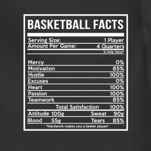 BASKETBALL FACTS basketball girlfriend and cute - Adjustable Apron