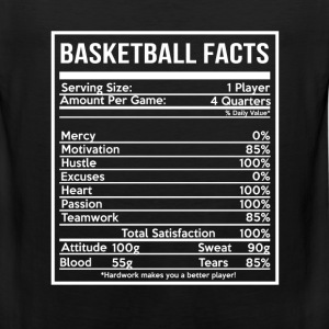 BASKETBALL FACTS basketball girlfriend and cute - Men's Premium Tank