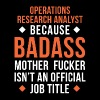 Operations Research Analyst Badass T Shirt T-Shirts - Men's Premium T-Shirt