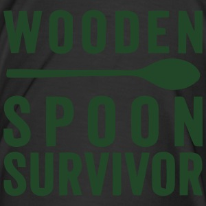 WOODEN SPOON SURVIVOR! Bottoms - Men's Premium T-Shirt