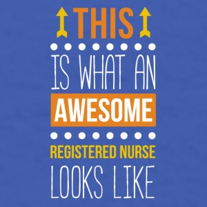 Awesome Registered Nurse Professions T Shirt Mugs & Drinkware - Men's T-Shirt
