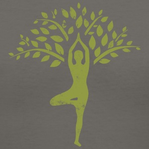 Yoga  - Women's V-Neck T-Shirt