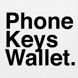 Phone Keys Wallet - Men's Premium Tank