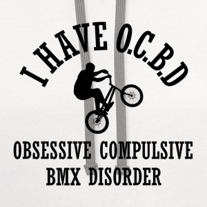 Obsessive BMX Disorder - Contrast Hoodie