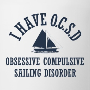 Funny Sailing Obsessed Shirt - Coffee/Tea Mug