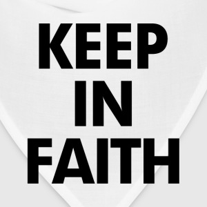 Keep In Faith T-Shirts - Bandana