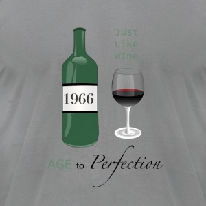 Just like wine 1966 50th Birthday - Men's T-Shirt by American Apparel