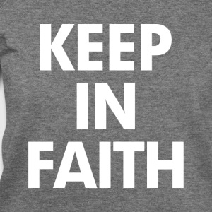 Keep In Faith Women's T-Shirts - Women's Wideneck Sweatshirt