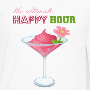The Ultimate Happy Hour - Men's Premium Long Sleeve T-Shirt