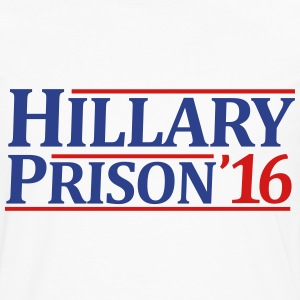 Hillary Prison 2016 - Men's Premium Long Sleeve T-Shirt
