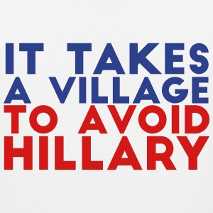 It Takes a Village to Avoid Hillary - Men's Premium Tank