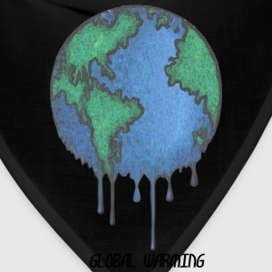 Earth Day Stop Global Warming - Bandana