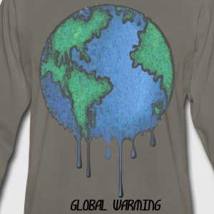 Earth Day Stop Global Warming - Men's Premium Long Sleeve T-Shirt