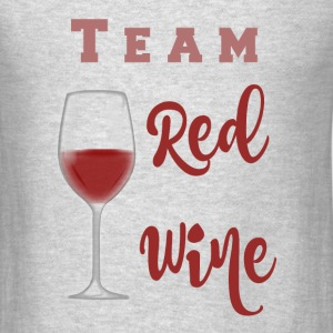 Team White WIne - Men's T-Shirt