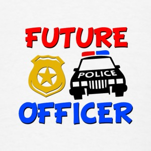 Future Police Officer Baby Shirt - Men's T-Shirt