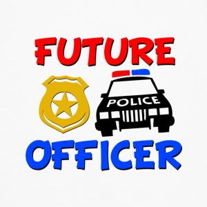 Future Police Officer Baby Shirt - Men's Premium Long Sleeve T-Shirt