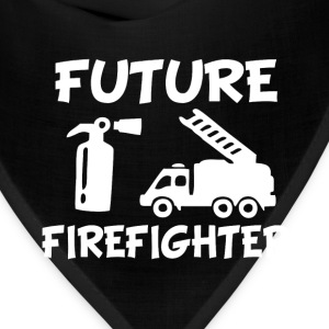 Future Fire fighter baby shirt - Bandana