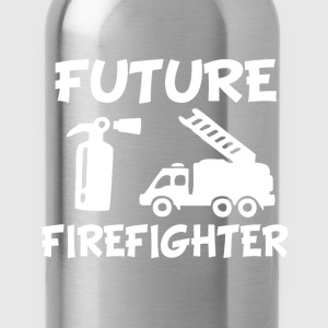 Future Fire fighter baby shirt - Water Bottle
