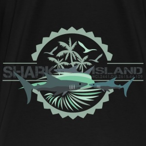 sharisland-sharkshirt Tanks - Men's Premium T-Shirt