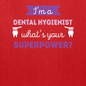 Dental Hygienist Superpower Professions T Shirt Women's T-Shirts - Tote Bag