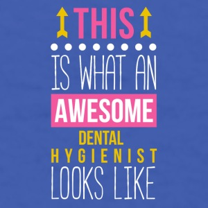 Awesome Dental Hygienist Professions T Shirt Mugs & Drinkware - Men's T-Shirt