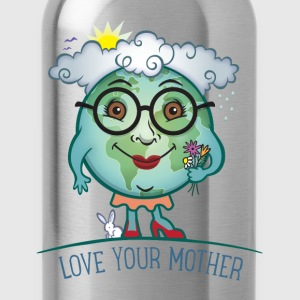 Love Mother Earth Kids' Shirts - Water Bottle