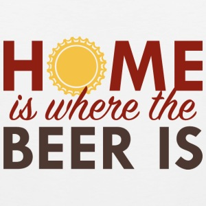 Home Is Where The Beer Is - Men's Premium Tank