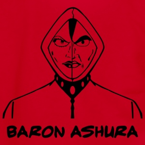 Baron Ashura - Unisex Fleece Zip Hoodie by American Apparel