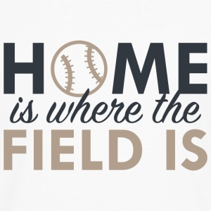 Home Is Where The Field Is - Men's Premium Long Sleeve T-Shirt