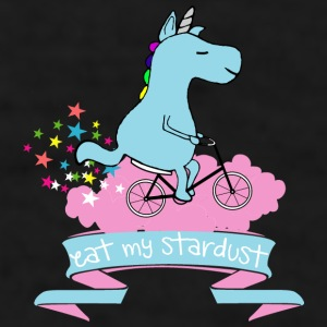Eat MY STARDUST! UNICORN QUOTES GIFT - Men's T-Shirt