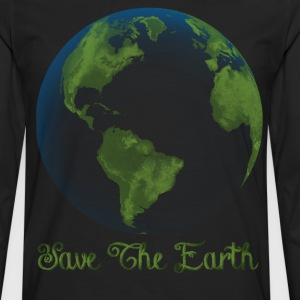 save the earth - Men's Premium Long Sleeve T-Shirt