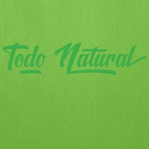 Todo Natural All Natural - Tote Bag