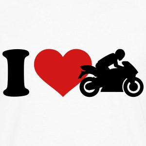 I love Motorcycle Women's T-Shirts - Men's Premium Long Sleeve T-Shirt