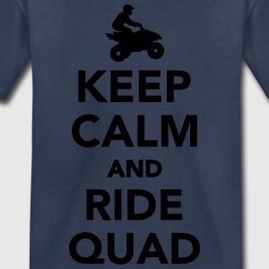 Keep calm and ride Quad Kids' Shirts - Toddler Premium T-Shirt