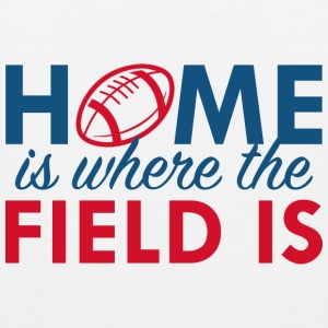 Home Is Where The Field Is - Men's Premium Tank