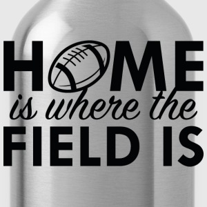 Home Is Where The Field Is - Water Bottle