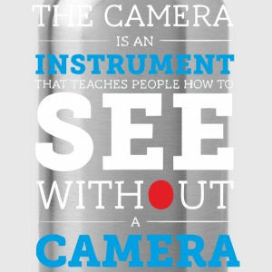 Camera is an Instrument - Water Bottle