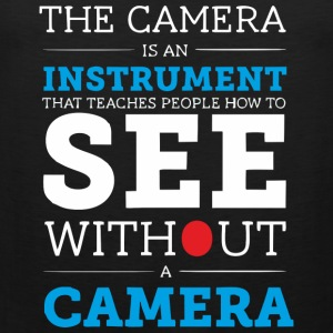 Camera is an Instrument - Men's Premium Tank