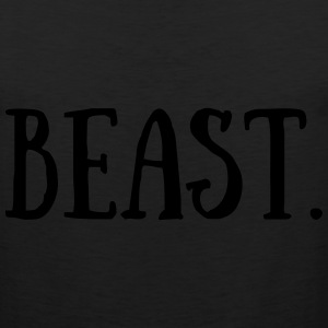 Beast. Kids' Shirts - Men's Premium Tank