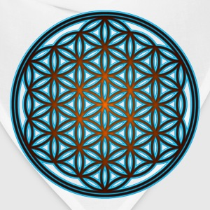 Flower of life, sacred geometry, spirituality,   - Bandana