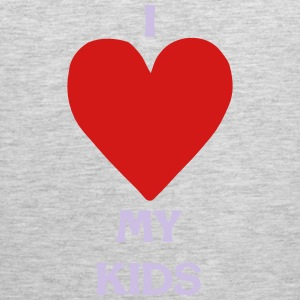 I LOVE MY KIDS T-Shirts - Men's Premium Tank