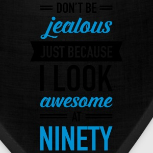 Awesome At Ninety T-Shirts - Bandana