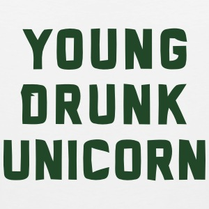 YOUNG DRUNK UNICORN Hoodies - Men's Premium Tank