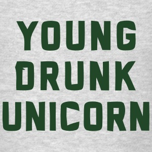 YOUNG DRUNK UNICORN Tanks - Men's T-Shirt