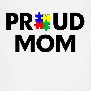 Autism Proud Mom Women's T-Shirts - Adjustable Apron
