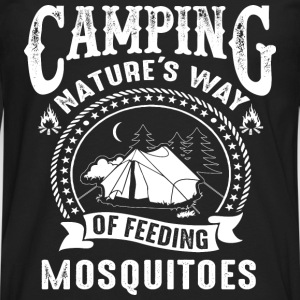 CAMPING - FEED MOSQUITOES - Men's Premium Long Sleeve T-Shirt