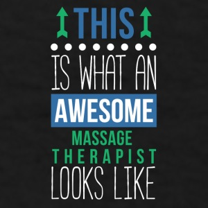 Awesome Massage Therapist Professions T Shirt Mugs & Drinkware - Men's T-Shirt