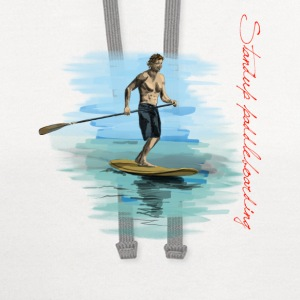 Standup paddleboarding T-Shirts - Contrast Hoodie