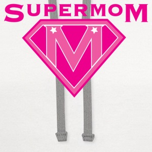 Super Mom Women's T-Shirts - Contrast Hoodie